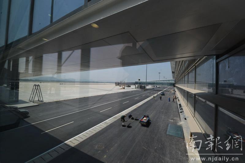 南京禄口机场二期将于今年7月初投入运营