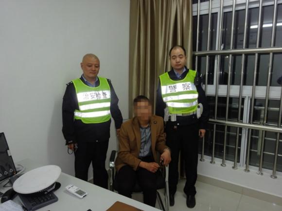 面对民警对车子来源的质询,徐某终於承认了前几天在苏州某4s店通过
