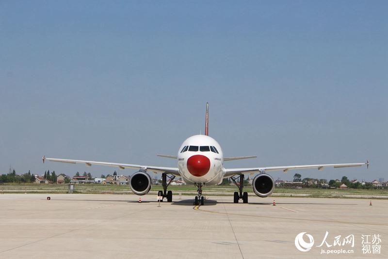 飞机将被长期停留在江苏工程职业技术学院南通空港产业园航空实训基地