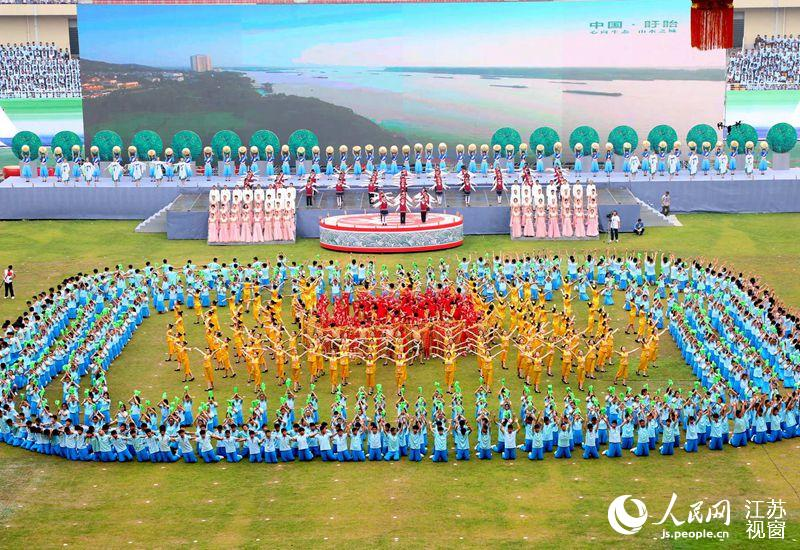 组图:盱眙国际龙虾节开幕式文艺表演夺人眼球
