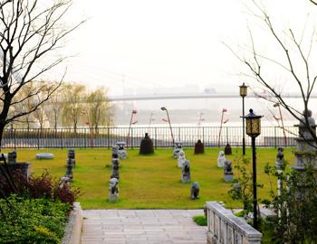 城市景观的立体公园