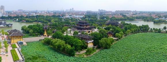 江苏徐州沛县旅游景点:汉城公园