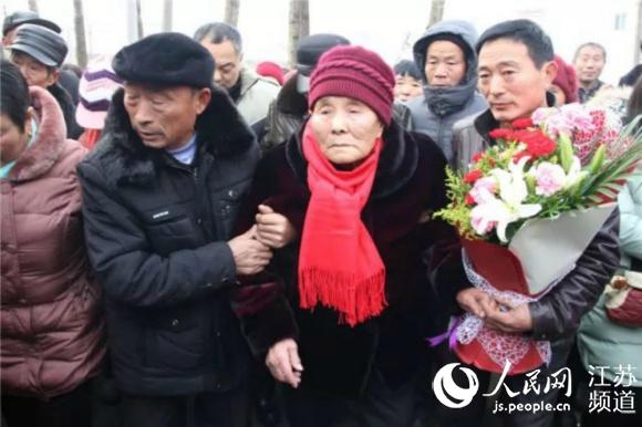 少小离家耄耋回 江苏东海91岁老兵终圆寻亲梦