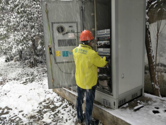 江苏移动全力以赴应对暴雪天气 确保通信无忧