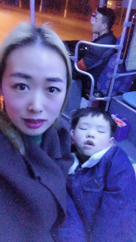 南京公交大全除夕夜里拍下别样全家福牙图片包露v大全表情司机图片