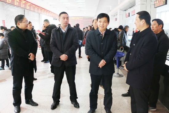 徐子佳调研节后淮安市淮安区企业用工情况