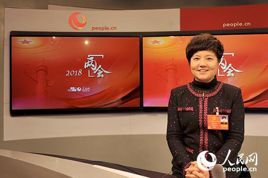 全国人大代表、淮安市市长蔡丽新做客人民网