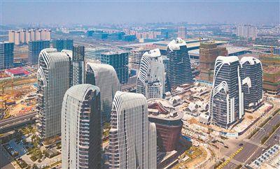 南京南站CBD2018年底将建成 面积或达到100万㎡