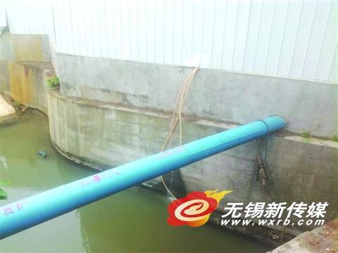 無錫一工地向古運河偷排污水被舉報被抓現行后再次偷排