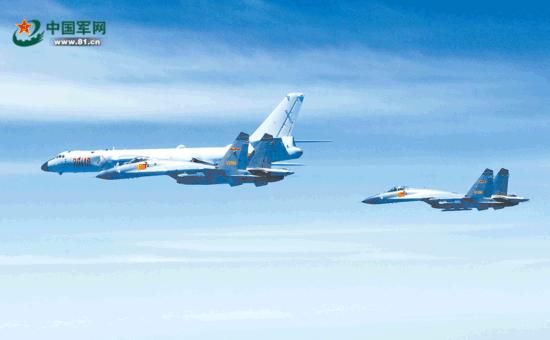 专家:空军绕岛巡航已常态化 歼-20或将加入