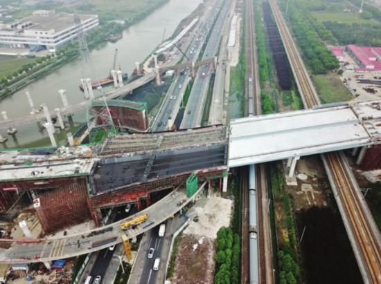 苏州星塘街北延工程再次越过312国道