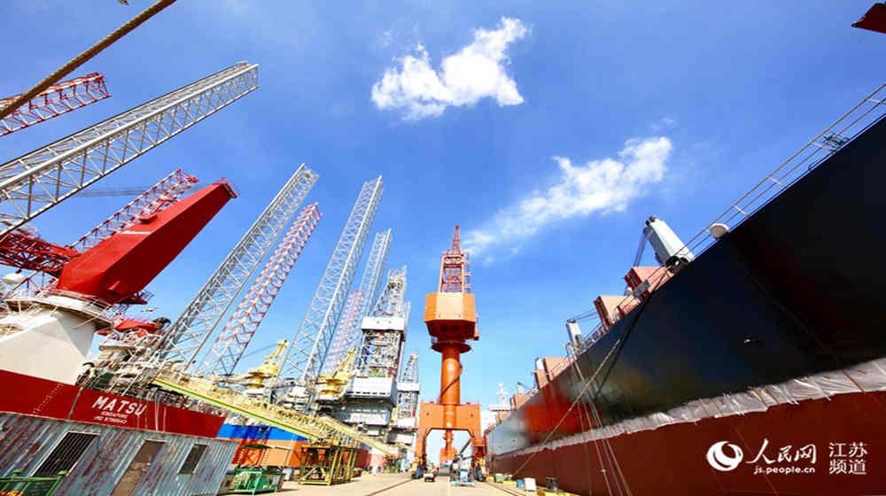 南通海门:先进装备制造业方兴未艾 产值破千亿