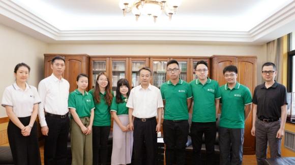 港生交流团参访江苏 南京宣传部长陈勇会见