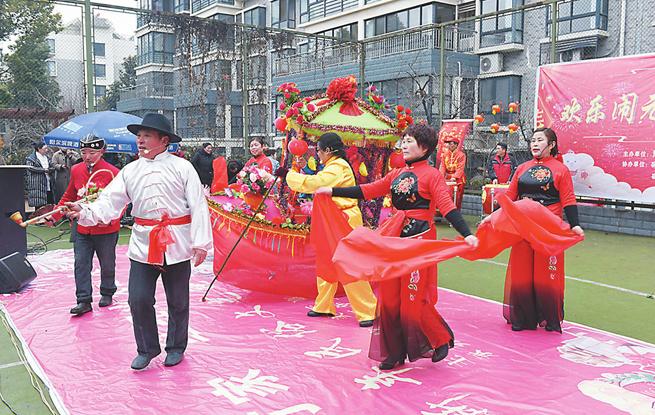 江苏各地以丰富多彩的文娱活动喜迎元宵佳节