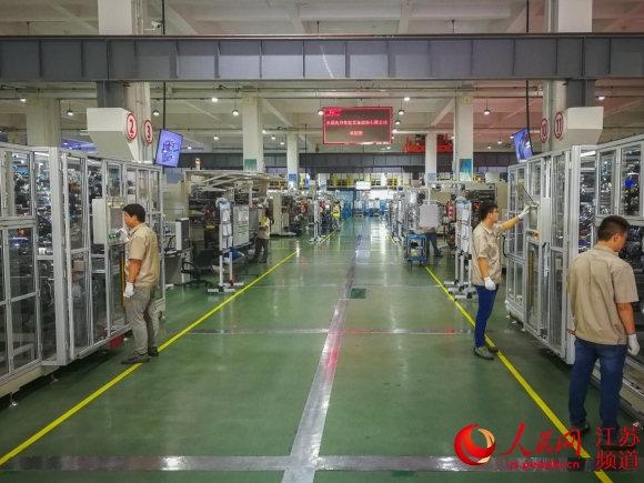 无锡新区民企打破江苏高端锂电装备出口零记录