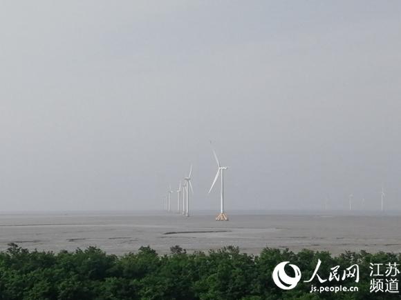 江苏如东:建绿色能源新城海上三峡正崛起