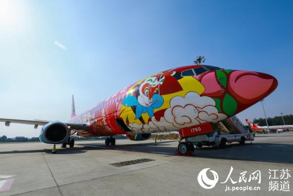 全球首架西游主题全彩喷绘客机