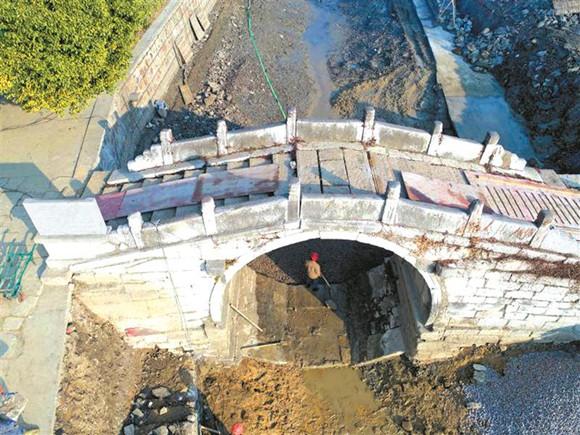 无锡首次发现反拱桥距今已有500多年历史