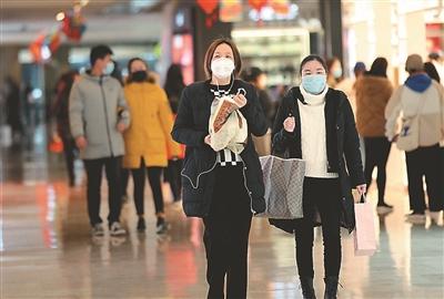 南京新街口商圈重新开放首日人气商气缓缓恢复