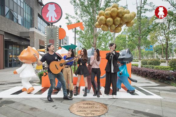 南京建邺首个网红街巷开街打造文化艺术新地标