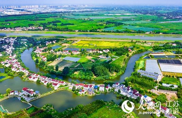 南京江北新區盤城街道:小院舊貌換新顏鄉村美景更美心