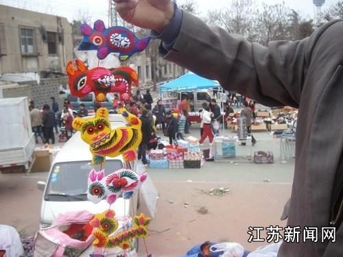 徐州云龙山举办庙会 展现民俗风情