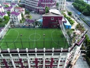 5人制足球场尺寸图;