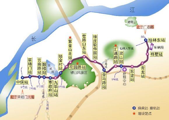 南京地铁4号线将开建与9条线路实现换乘
