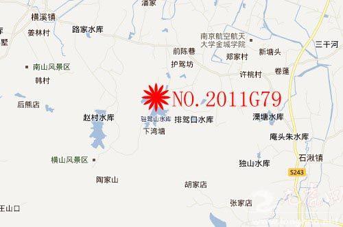 南京市在中国地图图片