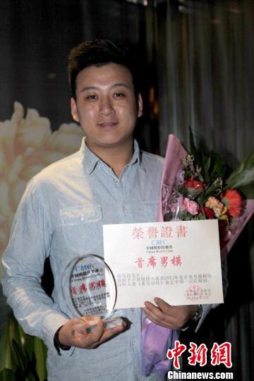 河南洛阳小伙_中国模特俱乐部2012年度首席男模杨亚龙