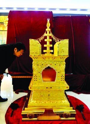 南京大报恩寺遗址出土的佛顶骨舍利将首次