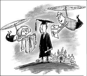 美国大学生毕业演讲_眼下,又到了美国大学的毕业季。然而对于很多大学生而言 ...