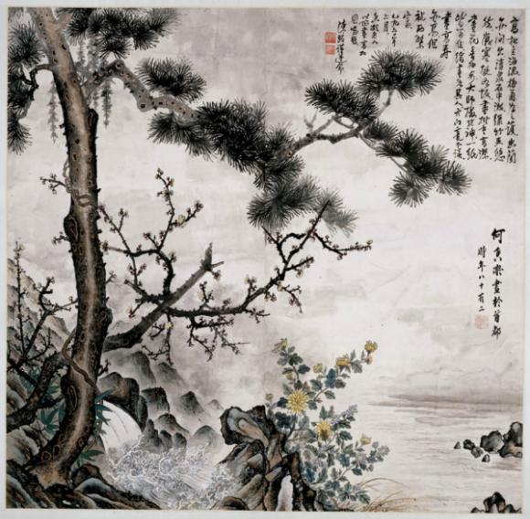 何香凝艺术精品展8月3日在南京开幕
