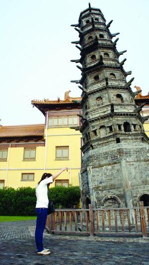 江宁定林寺塔号称世界第一斜塔