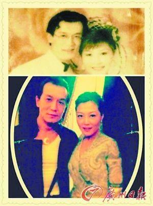 哈文李咏晒复古婚纱照 曾是同班同学