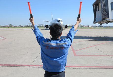 国庆中秋长假盐城机场起降航班将达40余架次