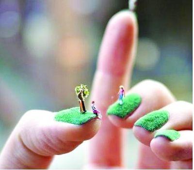 雷人热销贴网店种草:在视频上美甲的指甲天平图片