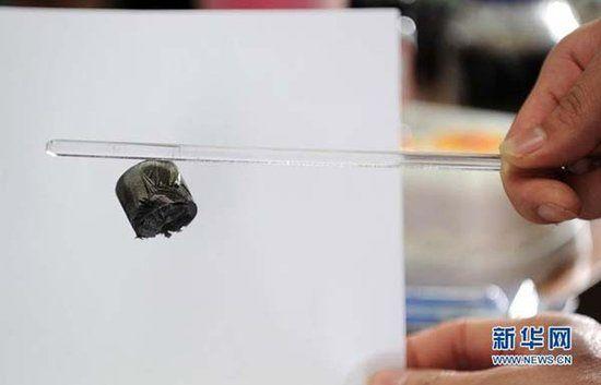 浙江大学高分子系高超教授的课题组制备出了一种超轻气凝胶它刷新了目前世界上最轻材料的纪录,弹性和吸油能力令人惊喜。这种被称为全碳气凝胶的固态材料密度为每立方厘米0.16毫克,仅是空气密度的1/6。日前,这一进展被《自然》杂志在研究要闻栏目中重点配图评论。       据介绍,气凝胶是入选吉尼斯世界纪录的最轻的一类物质,因其内部有很多孔隙,充斥着空气,故而得名。1931年,美国科学家用二氧化硅制得了最早的气凝胶,外号 凝固的烟。2011年,美国HRL实验室、加州大学欧文分校和加州理工