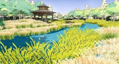 徐州滨水公园平面设计图