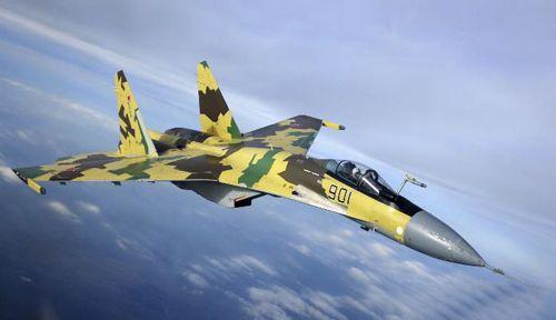 苏-35战斗机是俄罗斯空军现役最先进的机型之一