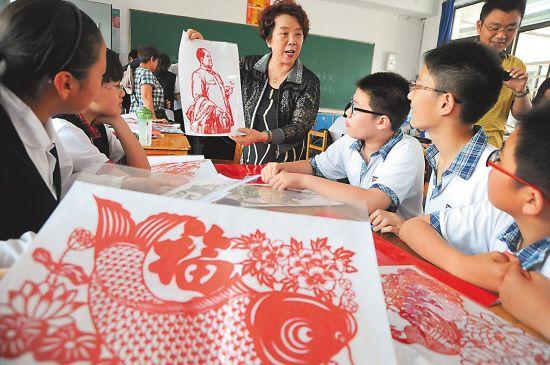 徐州老年大学剪纸在教师开办初中课如何初中转学南昌市?图片