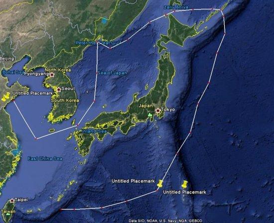 宗谷海峡_中国5艘军舰通过宫古海峡 首次绕日本一周