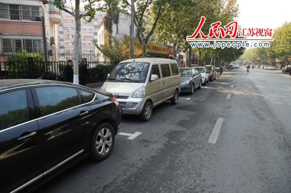 南京缓解老小区停车难 新划停车位2035个
