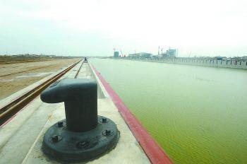 盐城内河港首座千吨级码头开工 可通江达海