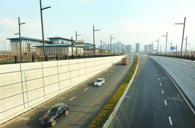 连云港海滨大道连云新城段贯通 全长6.5公里