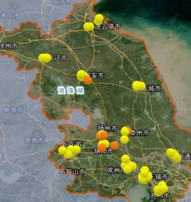 1月7日江苏空气质量排名:盐城最好 徐州最差