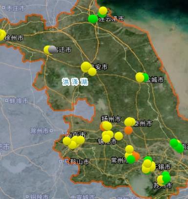 2月16日空气质量排名:13市全优良 泰州最差