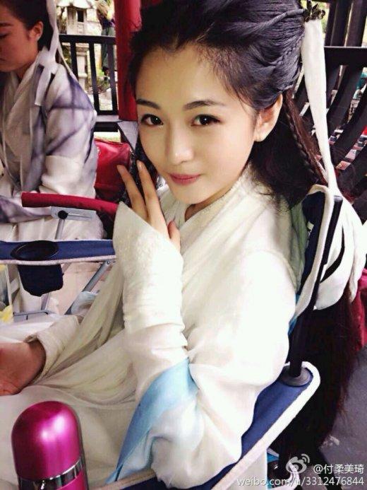 新《神雕侠女》小龙女替身清纯美丽超陈妍希
