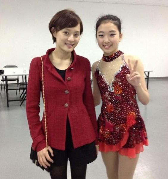 李子君在日本成女神 网友说她比金妍儿可爱 江