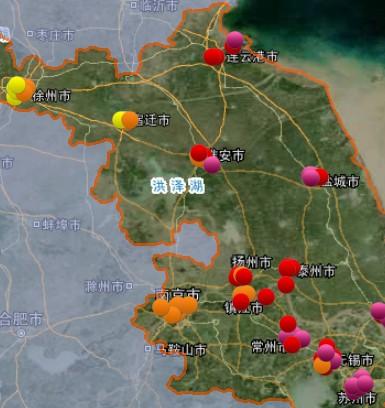 2月27日江苏空气质量排名:徐州最好 盐城最差